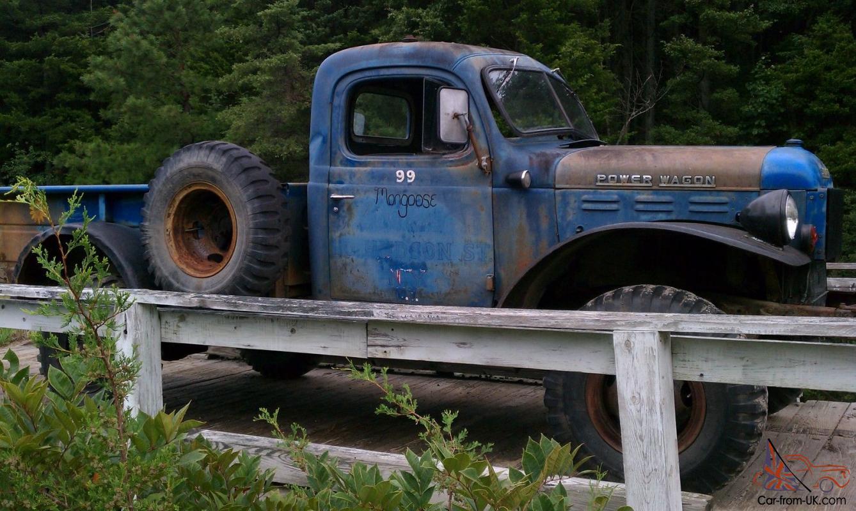 Dodge Power Wagon For Sale >> 1961 Dodge Power Wagon Wm300 Flat Fender