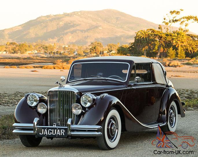 1950 Jaguar Mark V Drophead Coupe: Striking, Well Sorted ...