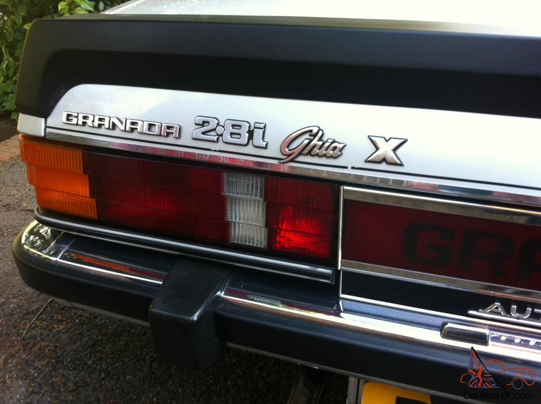1985 Ford Granada Ghia X Pack Auto