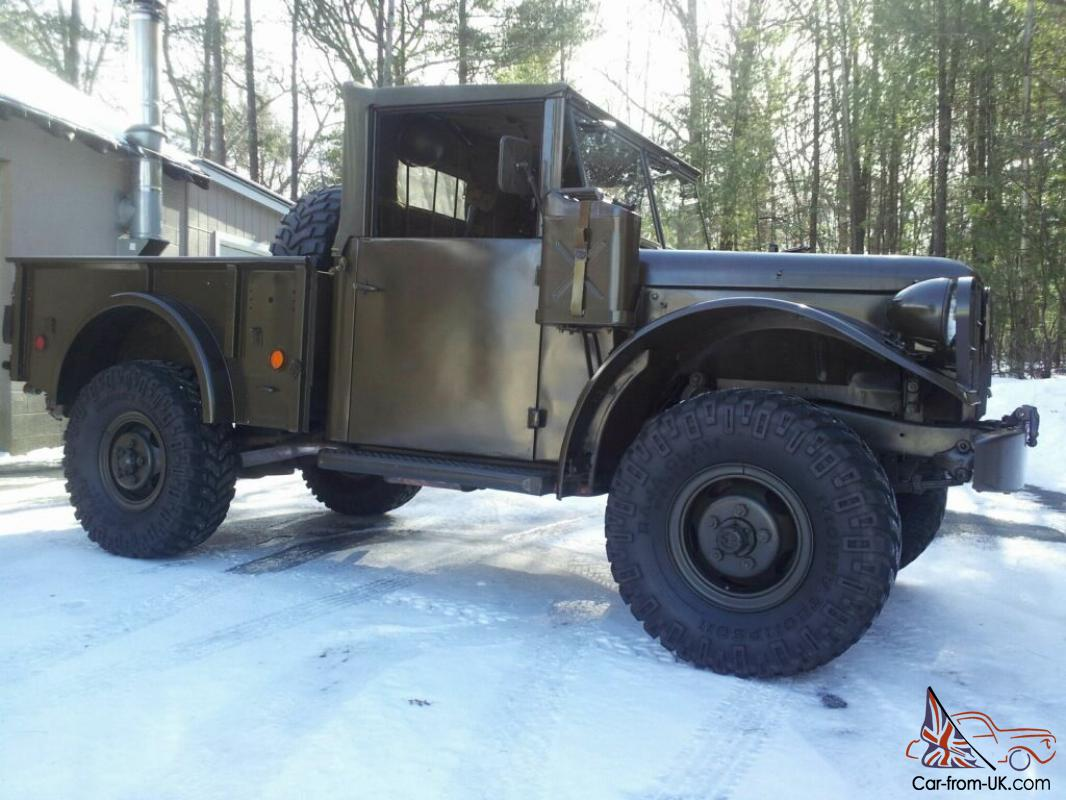 1955 Dodge M37 Power Wagon