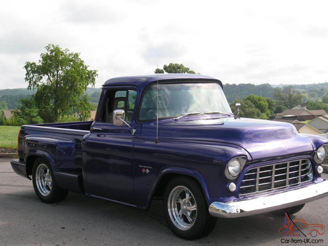 Off 1956 Chevy Short Bed Pickup