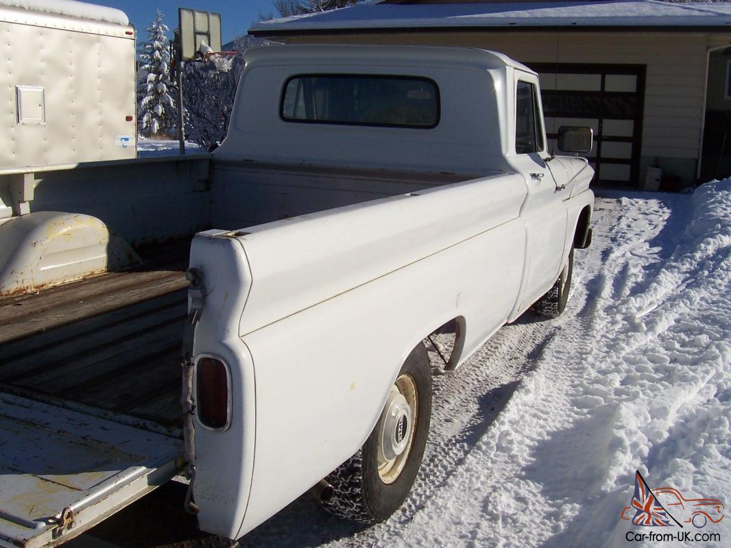 1966 Gmc 1000 1 2 Ton 2wd 350 4 Spd Fleet Side Lb Chevy Parts 1965 1964 Truck Heater Controls C10