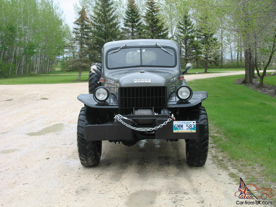 1955 dodge power wagon base 3 8l