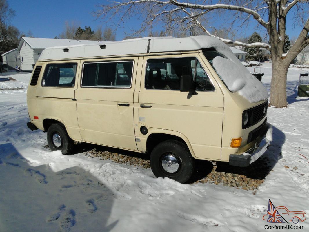 1984 Volkswagen Vanagon Westfalia Camper Van Vw For Sale