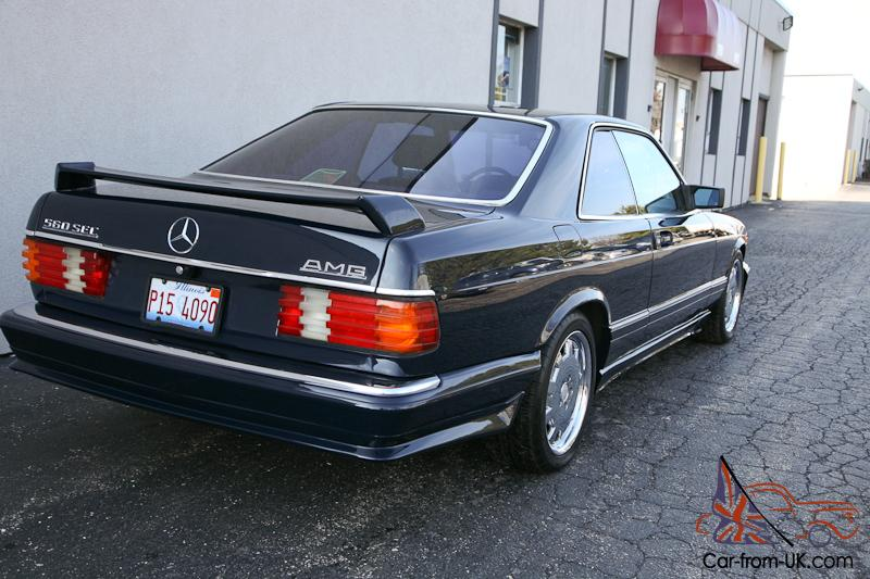 87 Mercedes Benz 560 Sec Amg Only 73k W126 Coupe Good Condition 560sec
