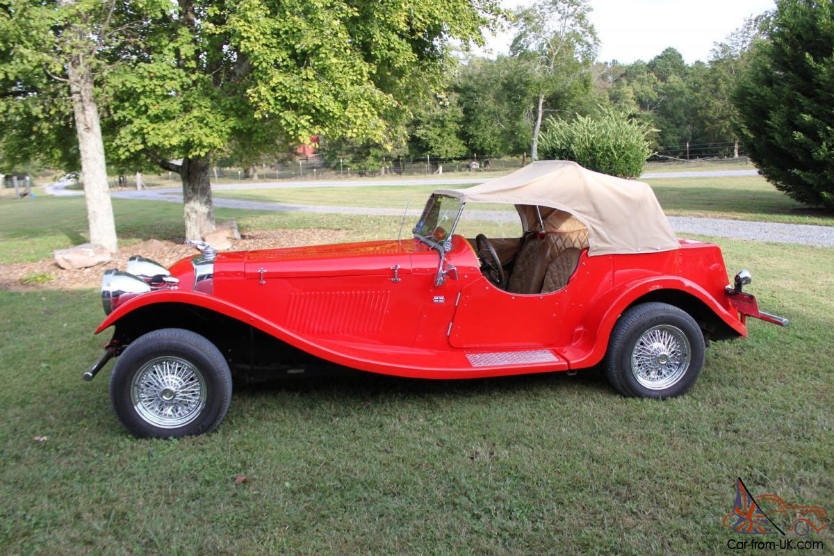 1937 Jaguar Ss 100 Replica Kit Car No Reserve No Reserve
