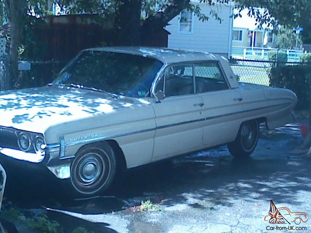 1961 Oldsmobile Super 88 Holiday 33,520 Original Miles! 394ci  325HP