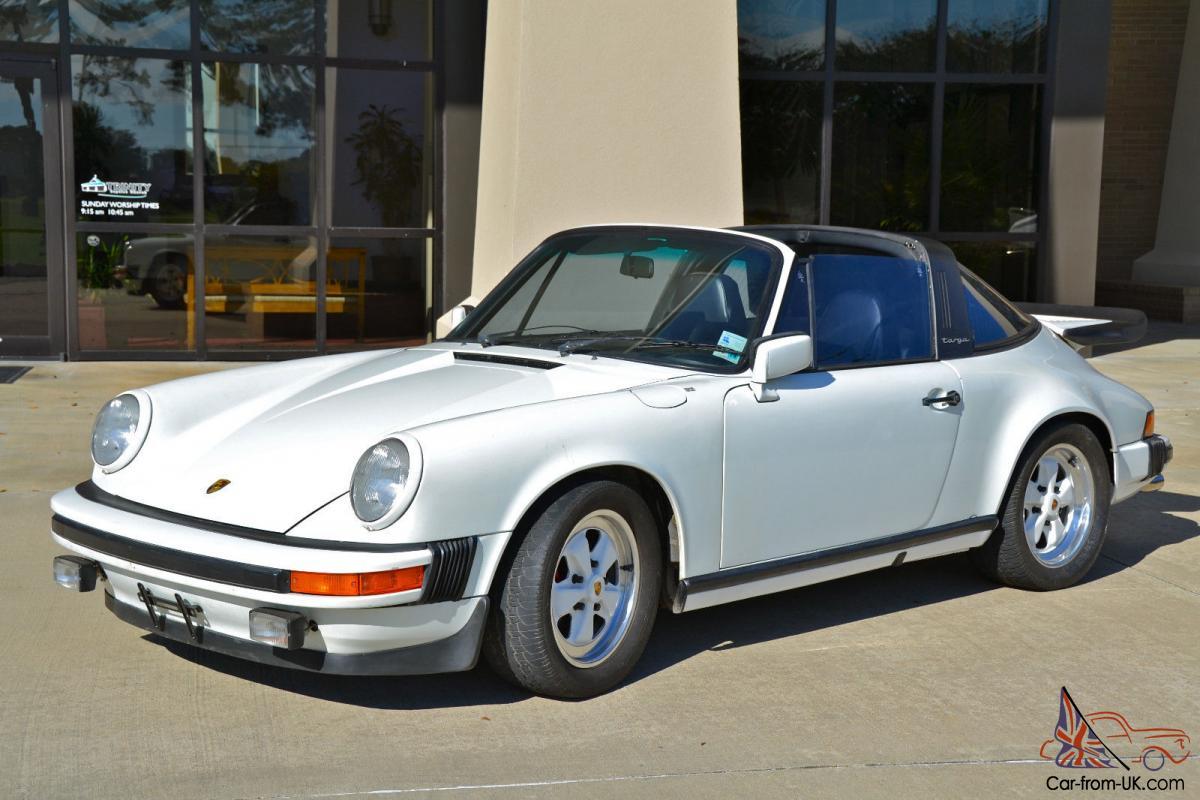 Porsche 911 Targus White Convertible
