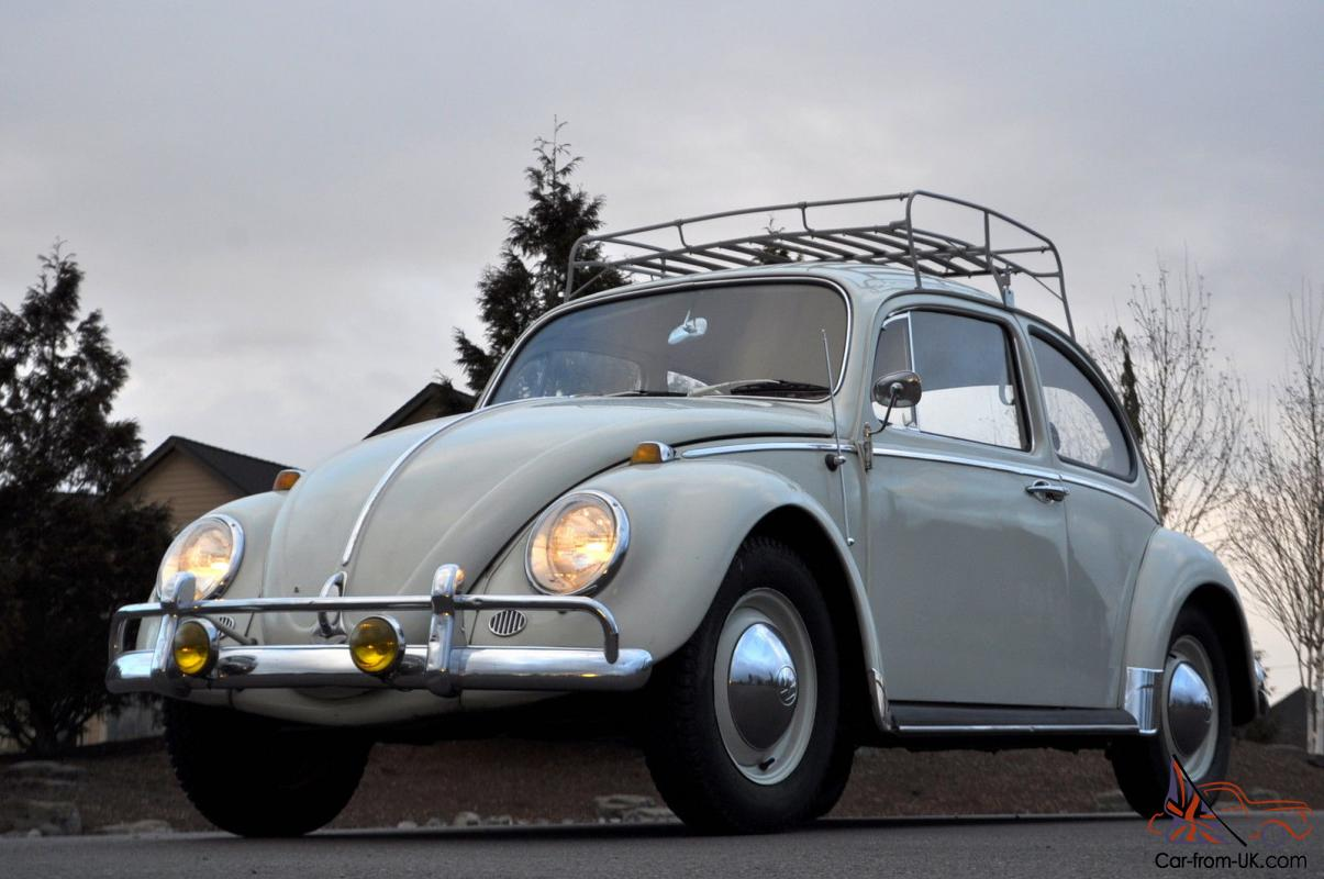 1965 Vw Volkswagen Deluxe Bug Type 1 Roof Rack Rat Rod German Mini Car Beetle
