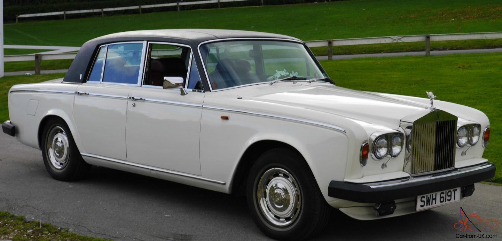 1978 Low Mileage White Rolls Royce Silver Shadow Ii