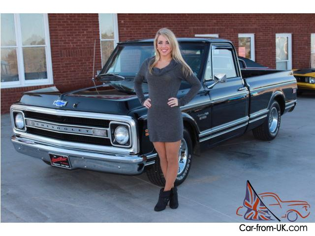 1969 Chevy C10 Pick Up 350 V8 Power Steering Super Solid