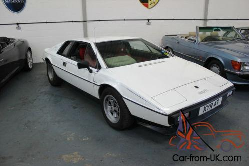 reliable quality latest sells Lotus Esprit S2 Completely original Car 1979