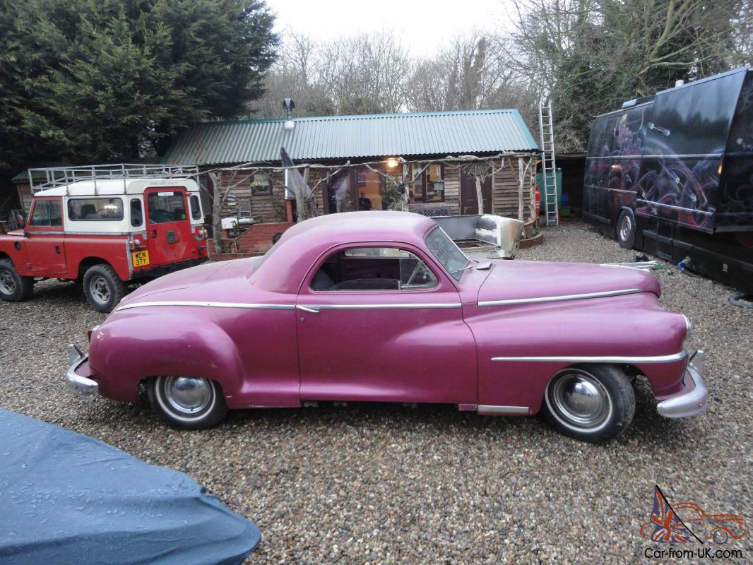 Chrysler De Soto S11 1946 3 Window Business Coupe Hot Rod