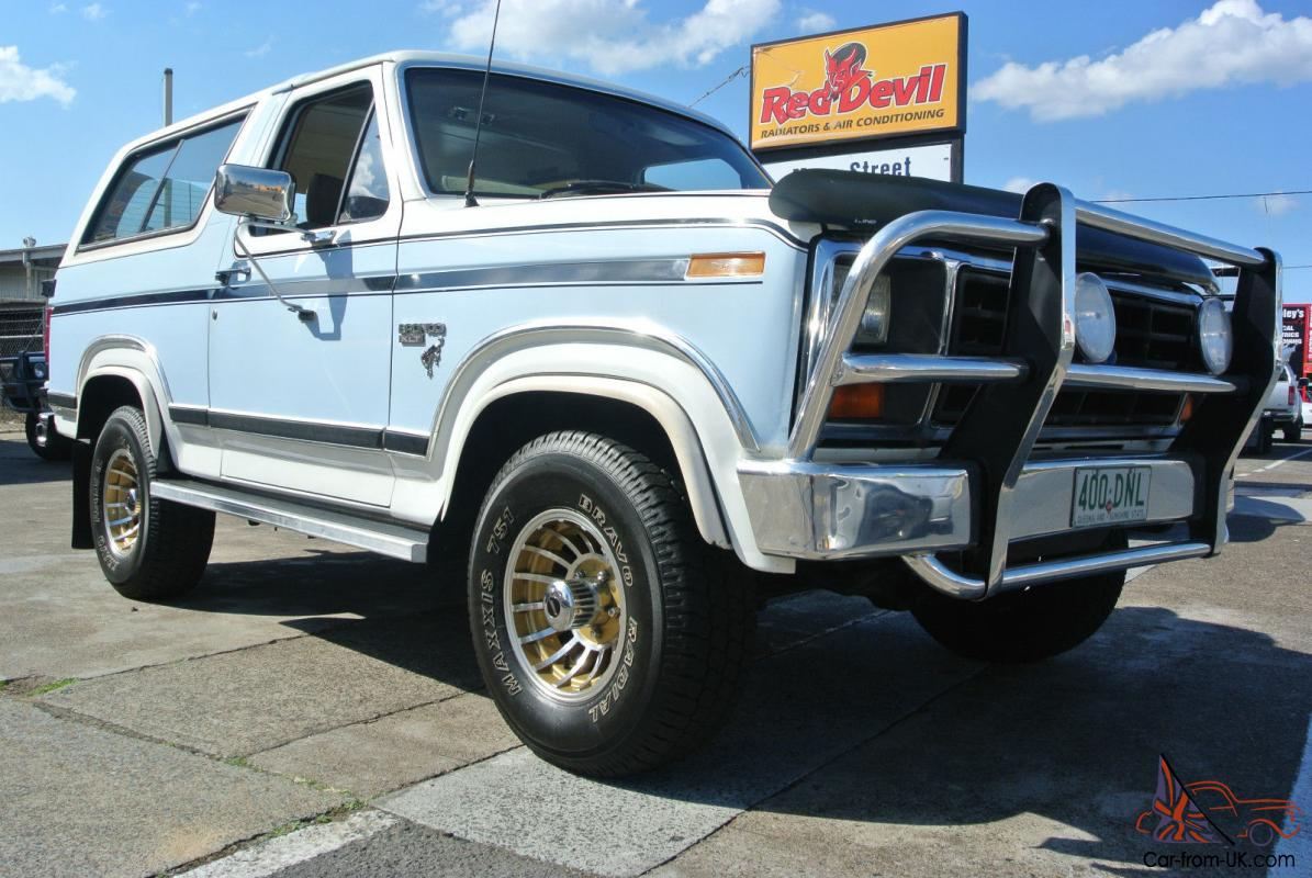 Ford Bronco 4x4 1985 2d Wagon 3 Sp Automatic 4x4 4 9l Fuel Injected In Springwood