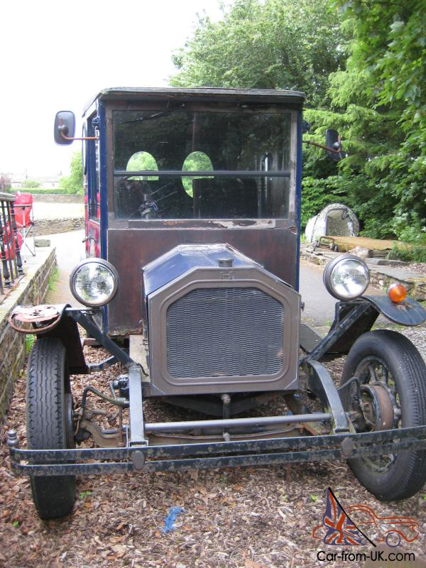 What To Do With Expired Car Seats >> Homark Model T Ford replica van hand built in Poole in 1982