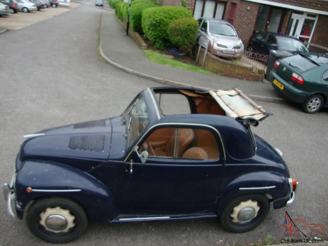 1951 Fiat Topolino 500 C Complete Quot Light Quot Restoration