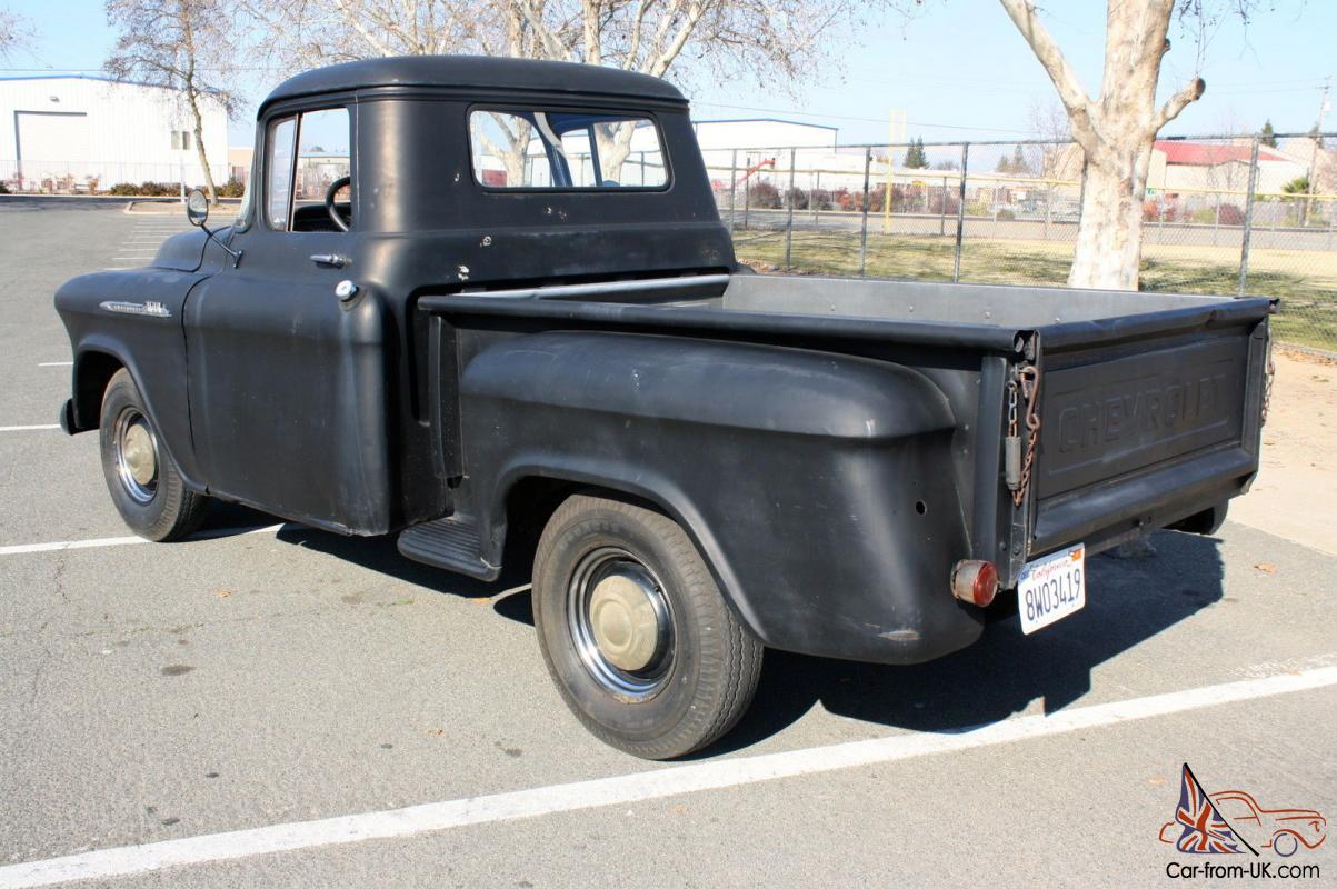 Chevrolet Other Pickups 3100 Half Ton Short Bed Task Force Napco 1957 Chevy Truck Clutch Linkage