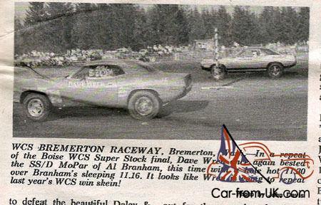 Plymouth : Barracuda Historical Race Car