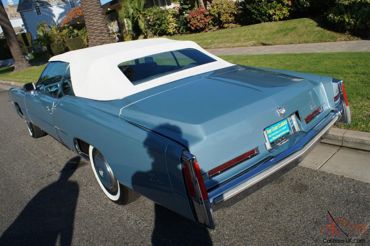 Cadillac : Eldorado CONVERTIBLE WITH 38K ORIGINAL MILES!