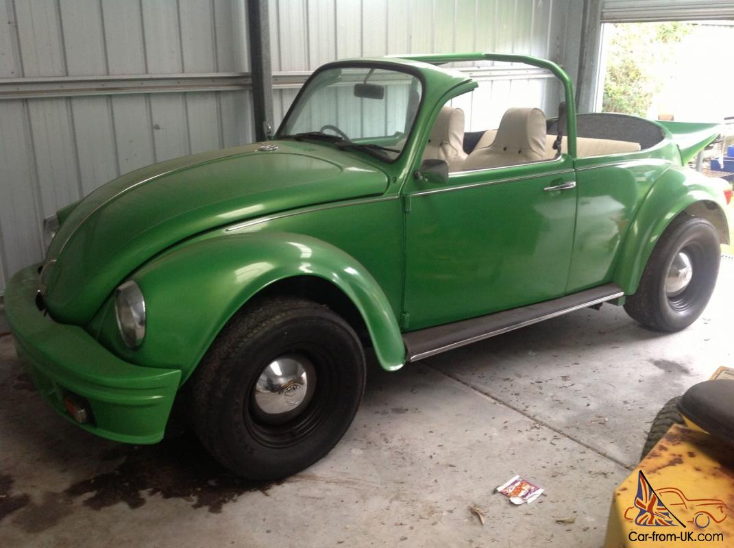 vw beetle superbug convertible volkswagen bug soft top 1972 no rust in wonthaggi  vic