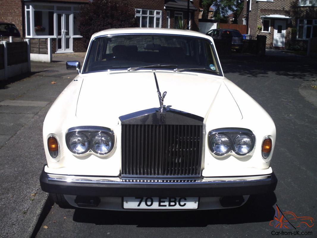 Rolls Royce Silver Shadow 11 White 1977