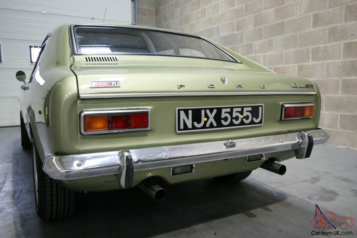 Ford Capri Mk1 3 0 L Gt
