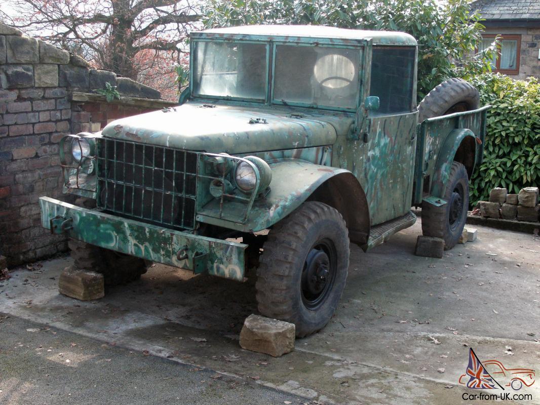 * * Dodge M37 3/4 Ton Cargo Truck, 1954 4x4 Cargo Truck Restoration Project  * *