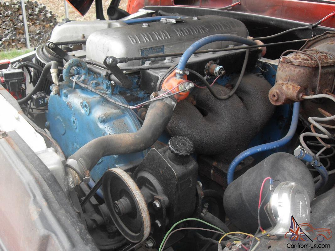 1964 Chevrolet 3/4 Ton 4x4 Truck, 371 Detroit Blown 2 Stroke Diesel, GMC  Grill