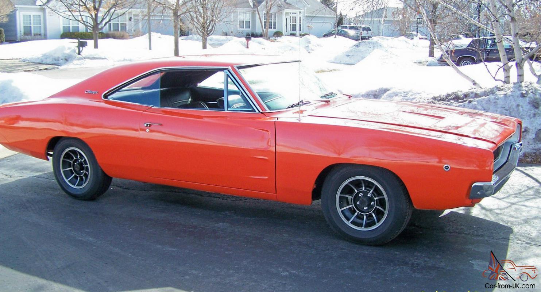 1968 Dodge Charger In Dukes Of Hazzard Orange
