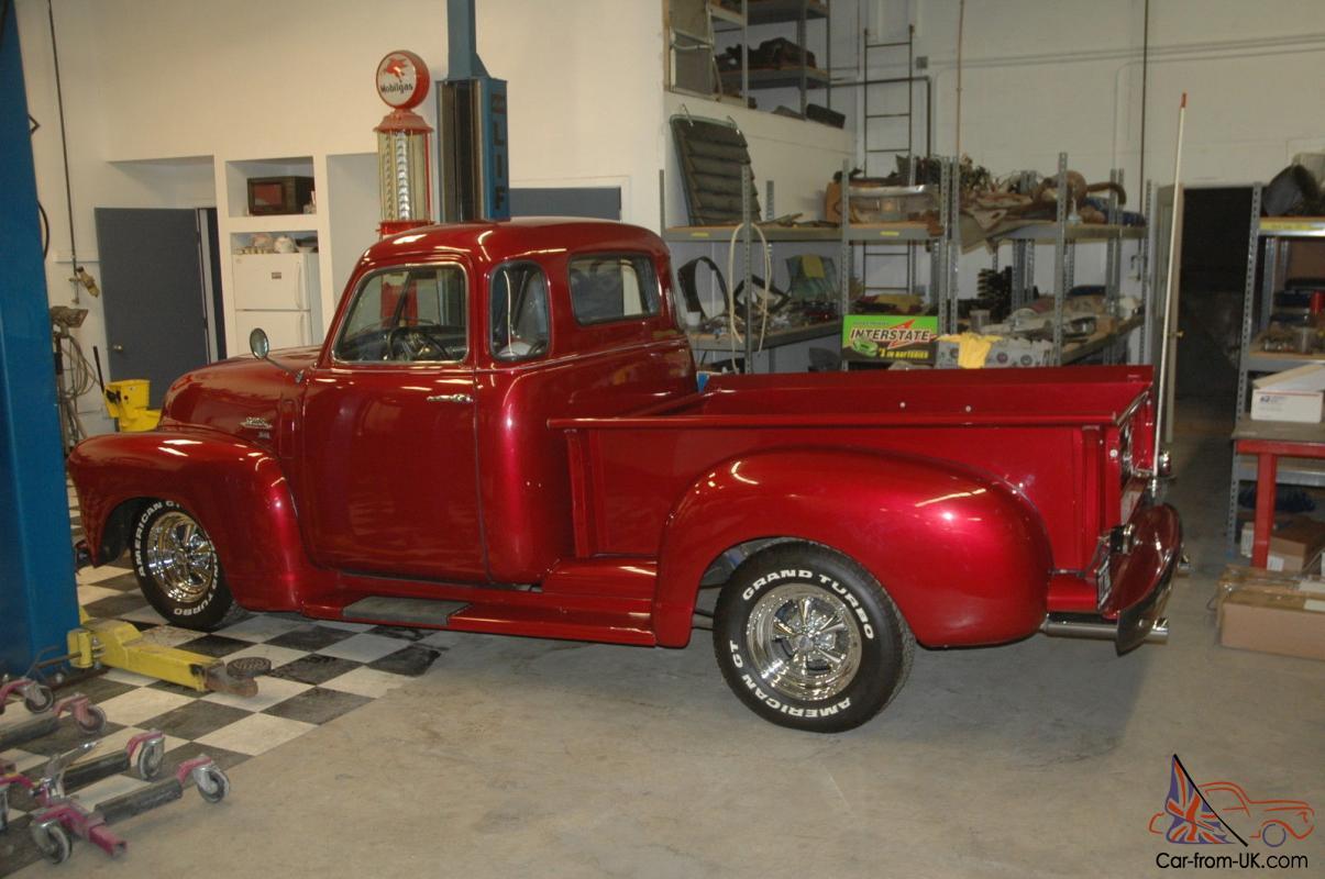 1950 Gmc 5 Window Pickup Truck Restomod