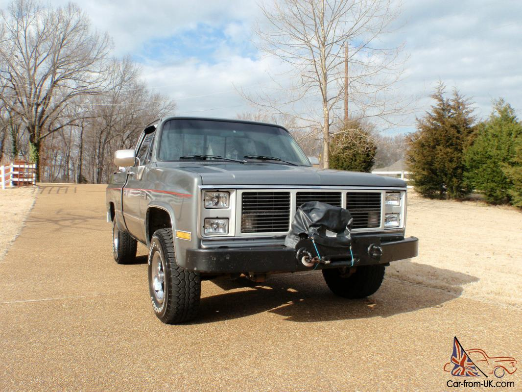 1987 Gmc Sierra Classic 4x4 Short Wheel Base