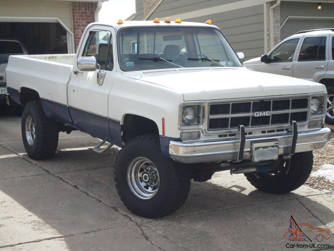 1978 Gmc 4x4 Long Bed Big Truck Needs New Home