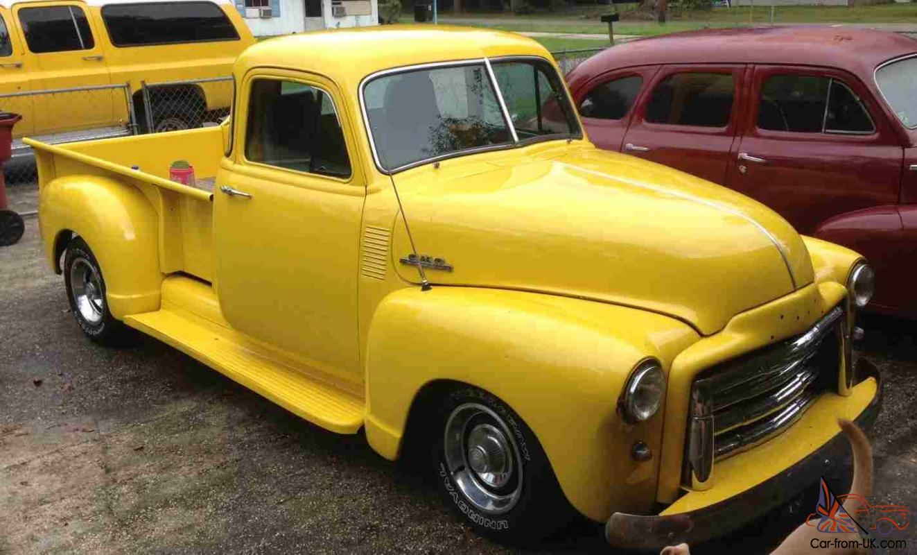 Pickup 48 chevy pickup parts : GMC LWB 5 Window Other Pickup, not Chevy 47, 48, 49, 50, 51, 52, 53