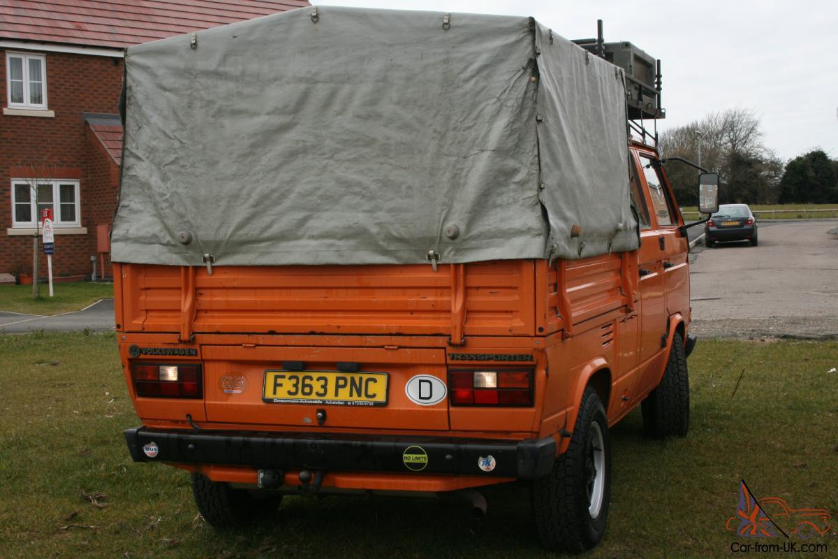 Vw T25 T3 Double Cab Doka Crewcab Pickup