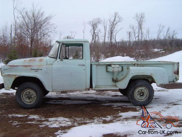 1958 International 4X4 Pickup !