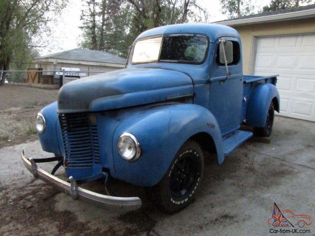 1941 international k1 1/2 ton short bed pickup truck