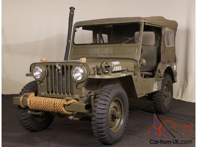 Military Jeep For Sale >> 1952 Willys Military Jeep M38 Body Off Restoration