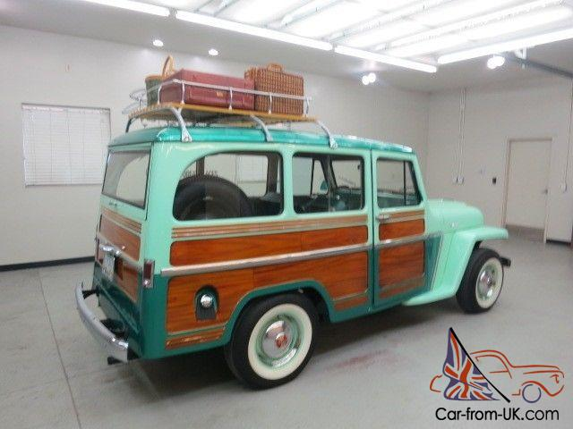 1962 Willys Jeep Wagon 4x4 !! A solid Arizona vehicle Hand painted wood  sides !!