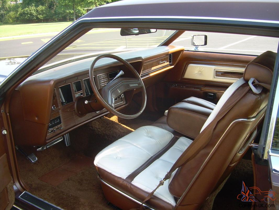 1976 Lincoln Mark Iv Brown Exterior With White Brown Interior