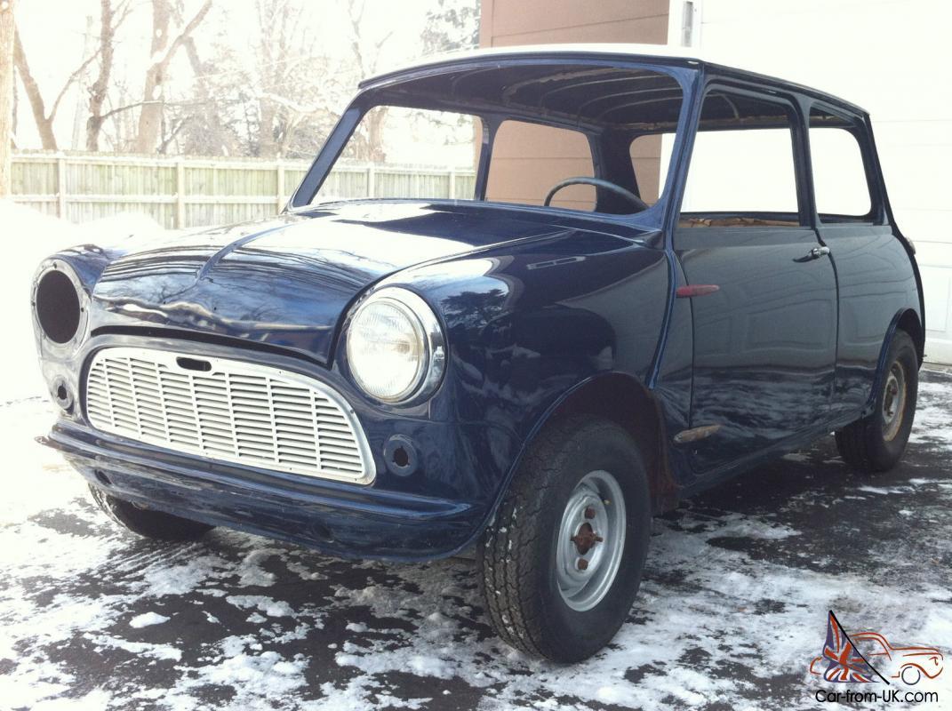 Mini Cooper Usa >> 1960 Morris Classic Mini 1st Year Usa Import Left Hand Drive Austin Cooper 850