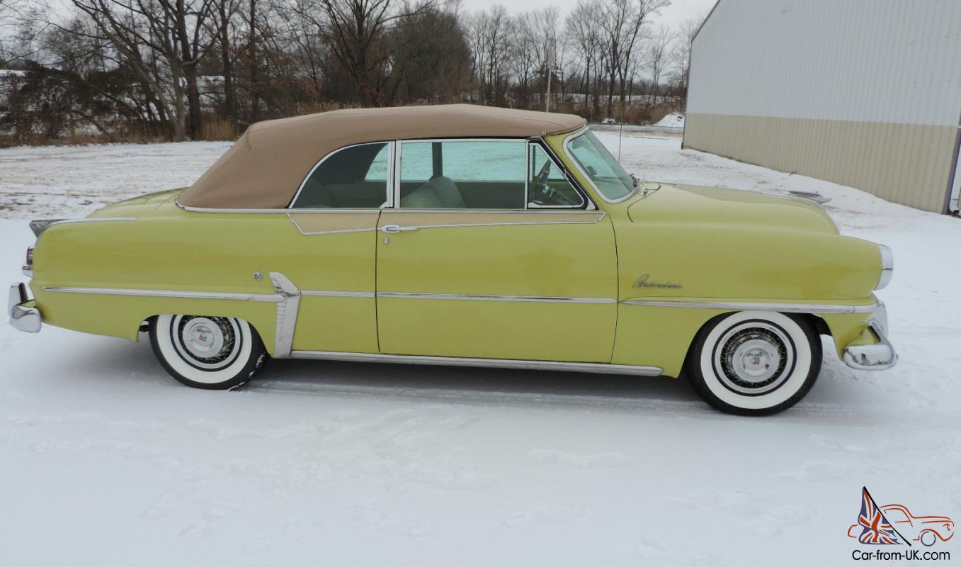 Find used 1954 Plymouth Belvedere Convertible - Beautiful ...   1954 Plymouth Belvedere Gas Mileage