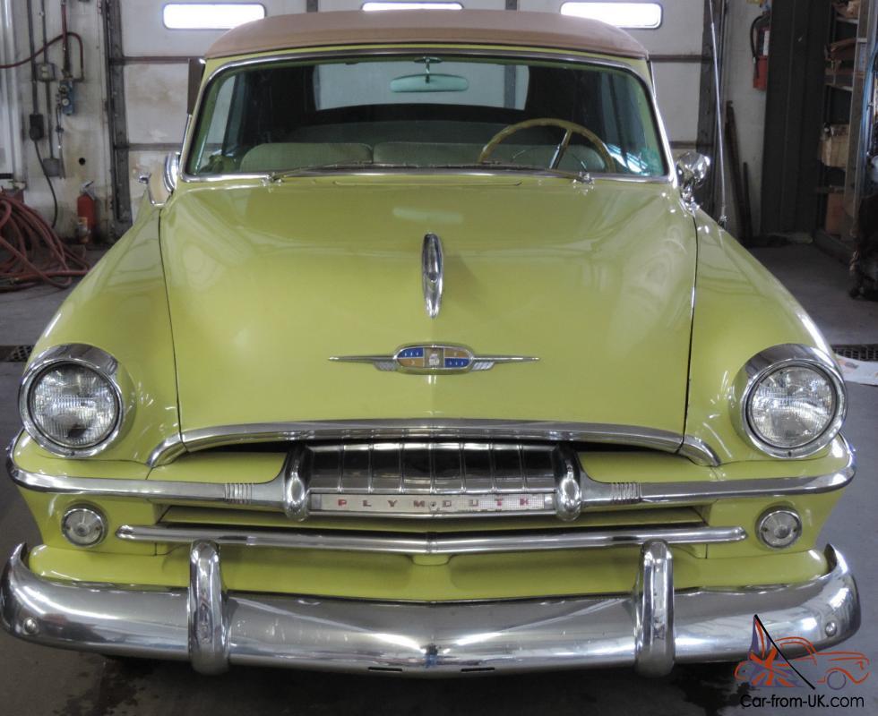 1954 plymouth belvedere 4 door all original   1954 Plymouth Belvedere Gas Mileage
