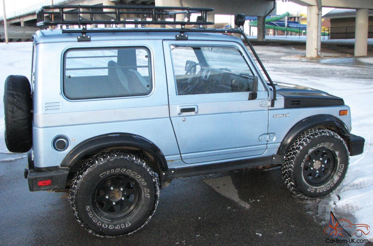 1988 5 Suzuki Samurai 4x4 Tin Top Roof Rack Suv Hunter S