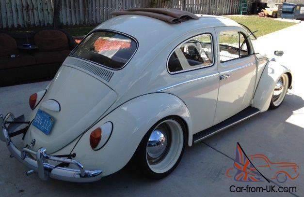 volkswagen bug vw beetle  ragtop