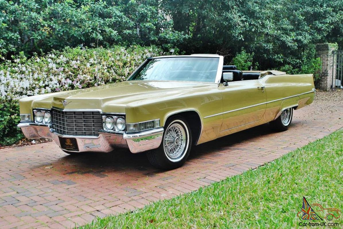 Amazing 1969 Cadillac Deville Convertible Cold A C Drive This Car Coast To