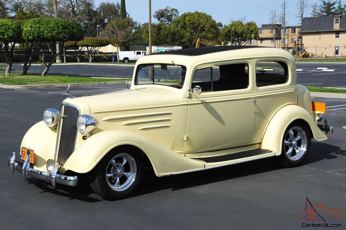 Custom 1934 Chevy Master Deluxe TownCar 327/350 Ford 8