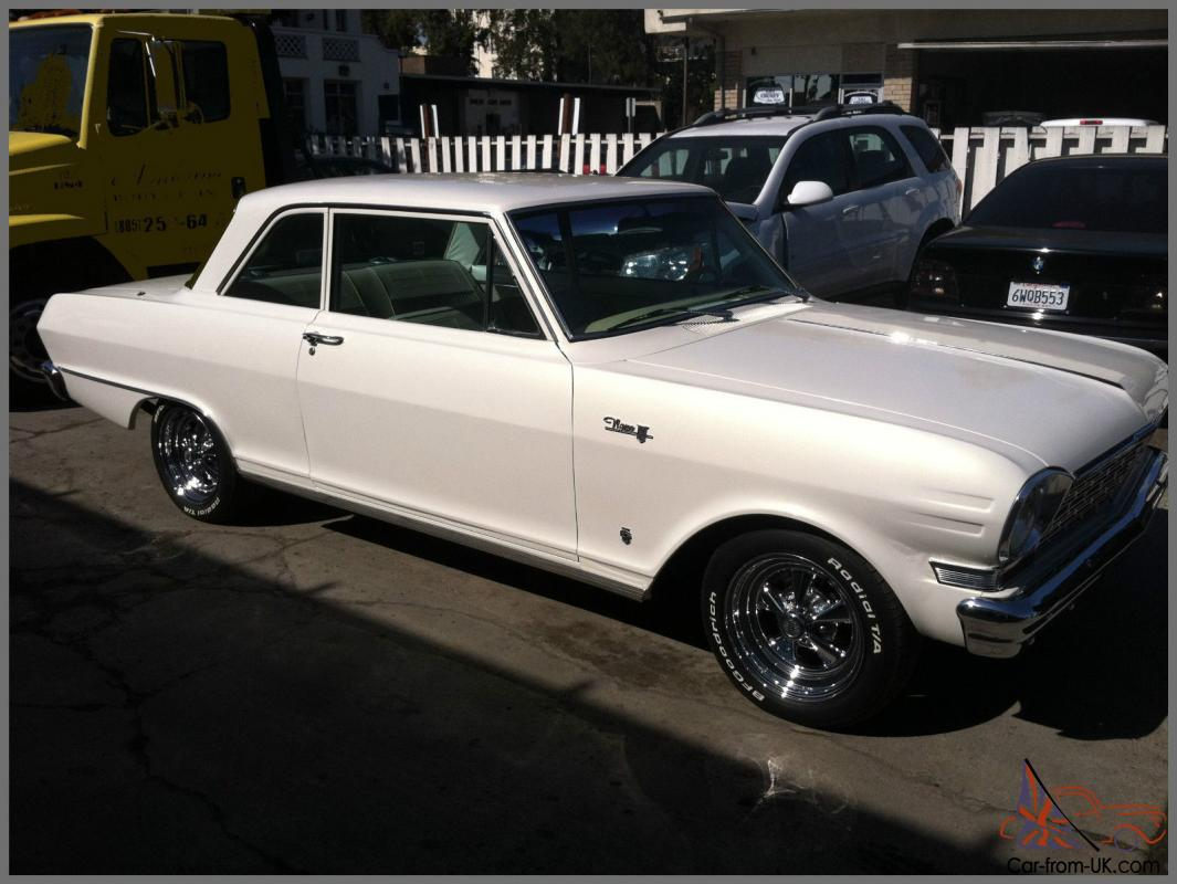 All Chevy 64 chevy ii : Nova Chevy II Post Hardtop Straight 6 In Excellent Shape/Runs Great!