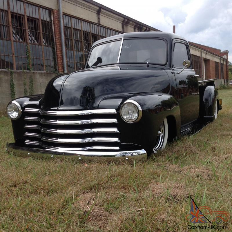 1951 Chevy Truck Pro Touring Resto Mod Bagged Air Ride Custom