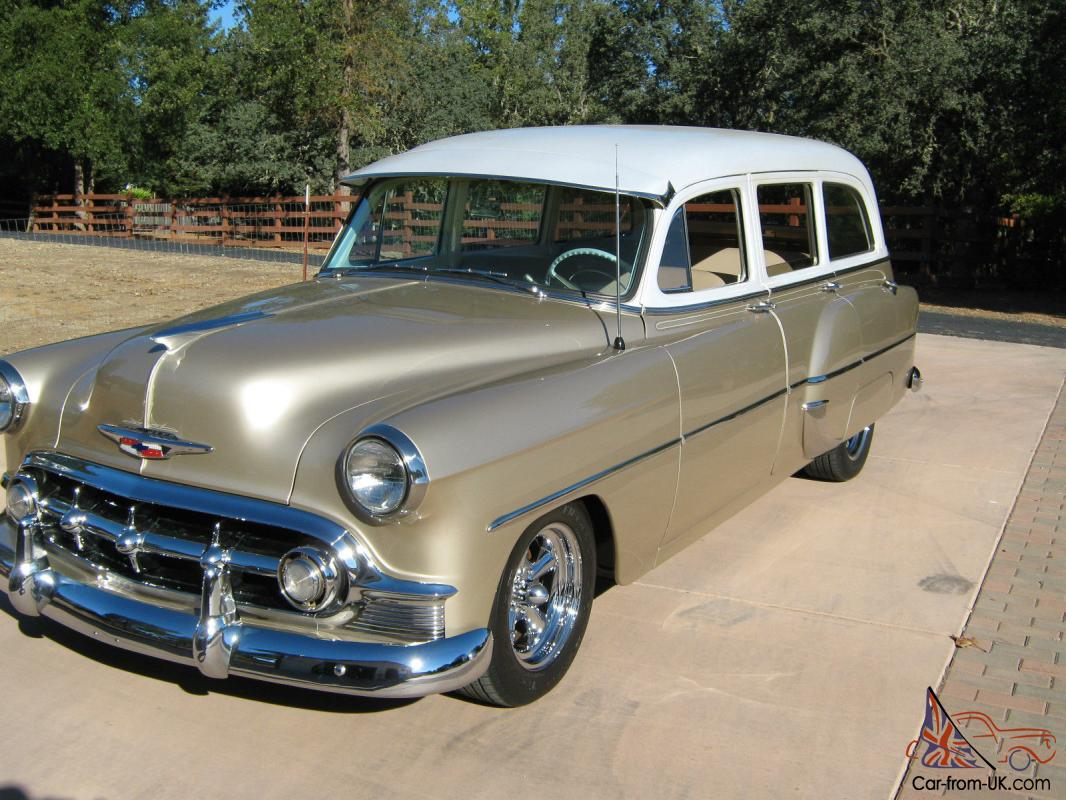 1953 Chevy Station Wagon Bel Air 210