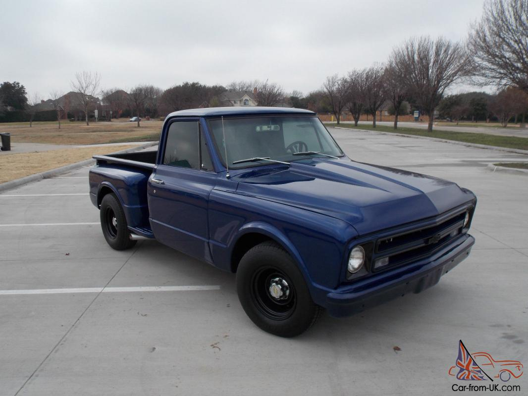Truck 67 72 chevy truck for sale : Chevy C10 step side short bed pick up truck